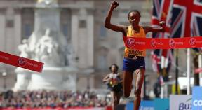 Sumgong to defend london Marathon Title