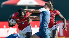 Kenya thrash France and Japan but lose to Fiji in Cape Town