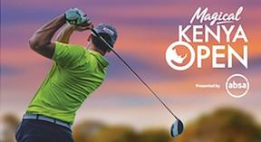 East & Central Africa's Premier Annual Golf Event , The Kenya Open Golf Championship
